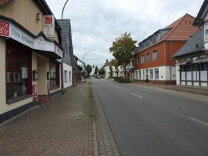 Blick in die Neue Straße
